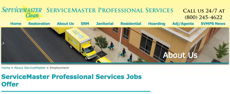 ServiceMaster MN Professional Services